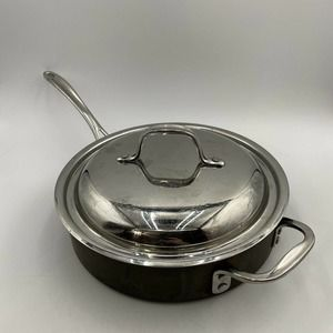 Calphalon #5003 3 Qt Saute Pan Skillet with Lid